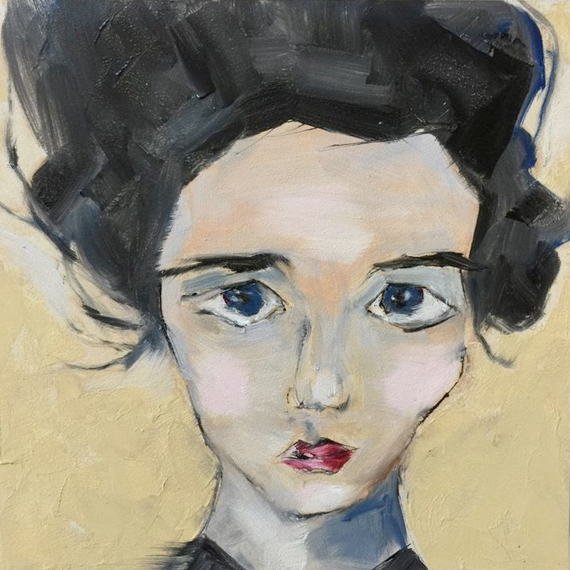 """Clara"" original fine art by Jenny Doh"