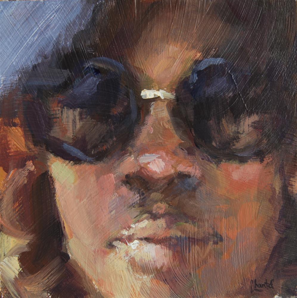 """Memphis Dreaming"" original fine art by Chantel Barber"