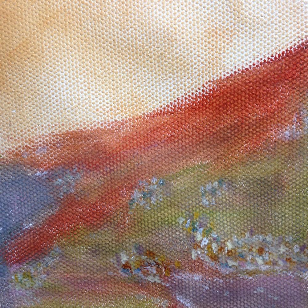"""Coastal Villages"" original fine art by Joy McMicken"