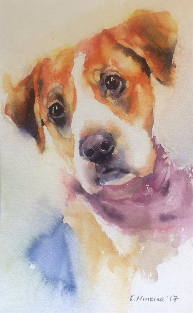 """adopt233"" original fine art by Katya Minkina"