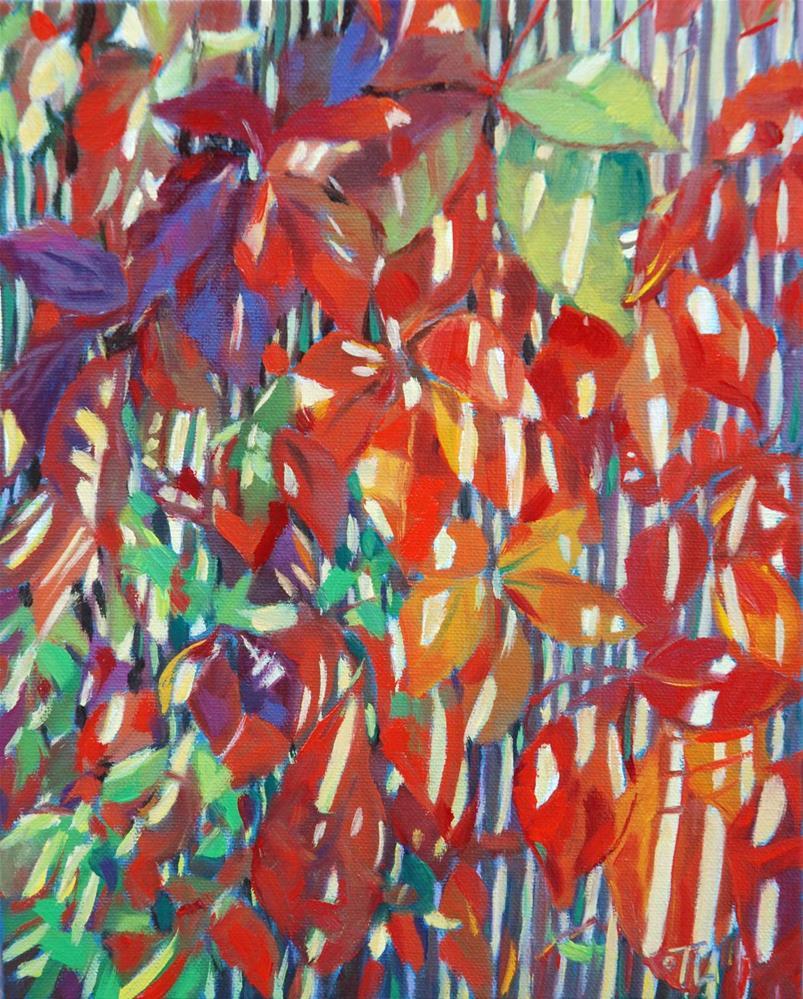 """""""DCS#40 Virgin vine"""" original fine art by Olga Touboltseva-Lefort"""