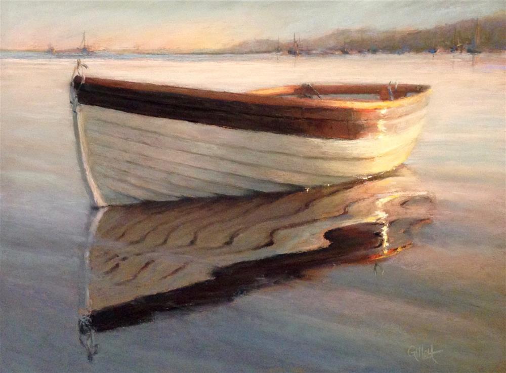 """Peaceful Morning"" original fine art by Cindy Gillett"