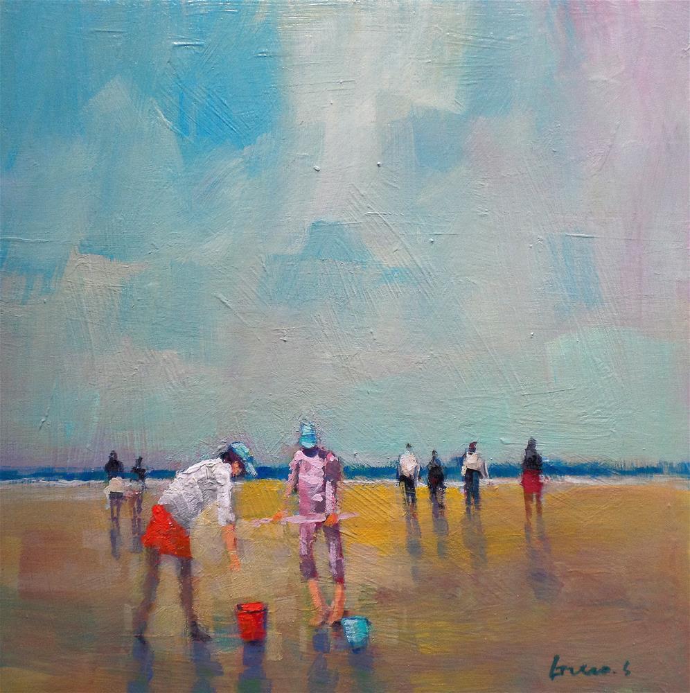 """beach"" original fine art by salvatore greco"