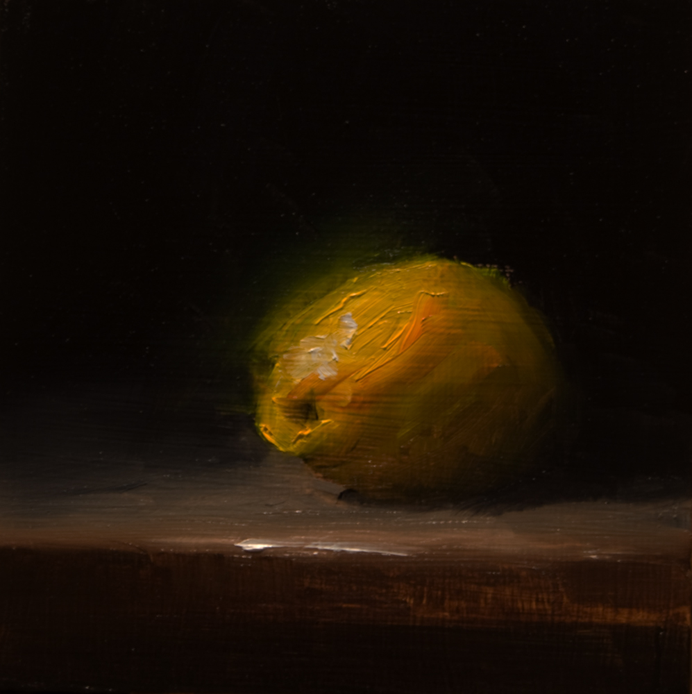 """Lemon No.2"" original fine art by Neil Carroll"