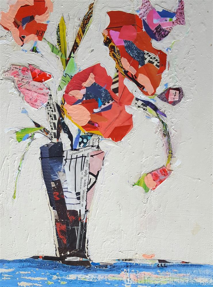 """""""Coral Magic"""" original fine art by Cindy Carrillo"""