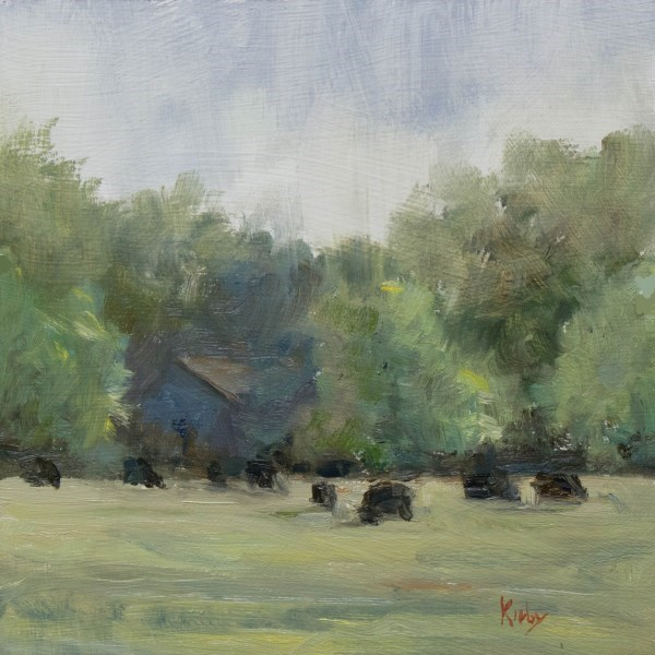 """Spring Rain"" original fine art by Randall Cogburn"