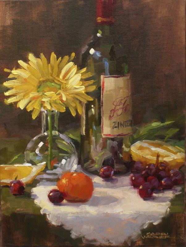 """""""Harmony"""" original fine art by Karen Werner"""