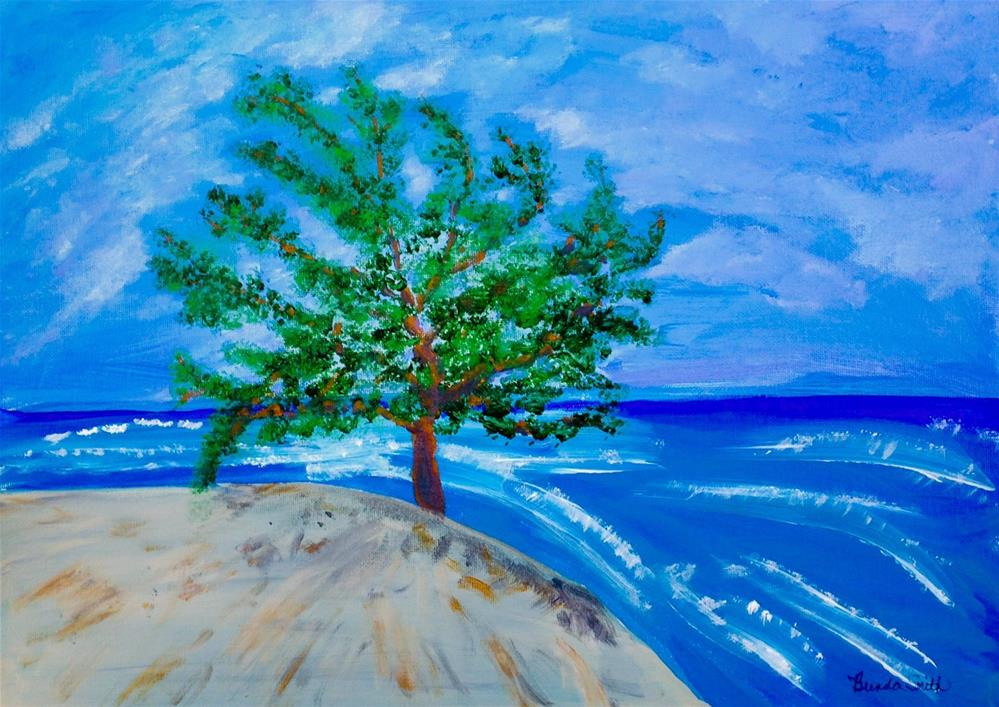 """Mangrove Tree"" original fine art by Brenda Smith"