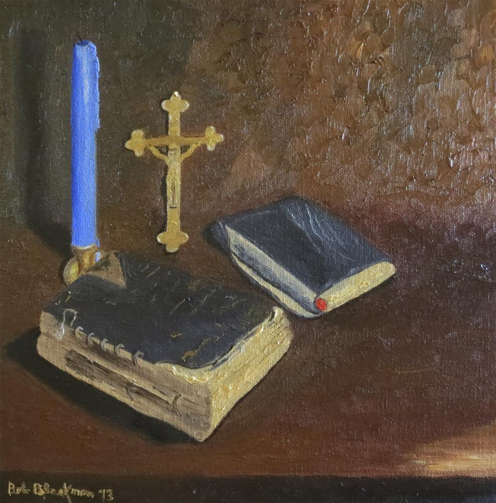 """Ancestral Religious Artifacts"" original fine art by Bob Blackmon"