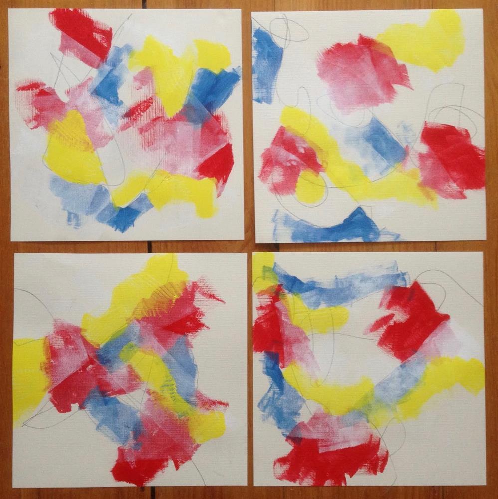 """""""A SNeries, Day 2"""" original fine art by Dotty Seiter"""