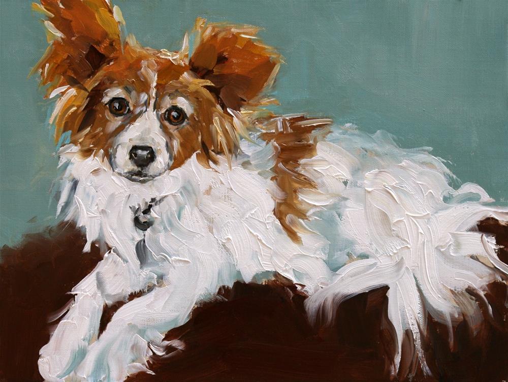 """""""roxy"""" original fine art by Carol Carmichael"""