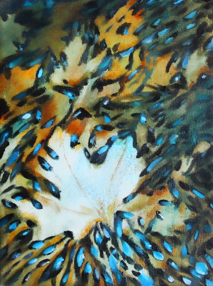 """Autumn Ballet"" original fine art by Christiane Kingsley"