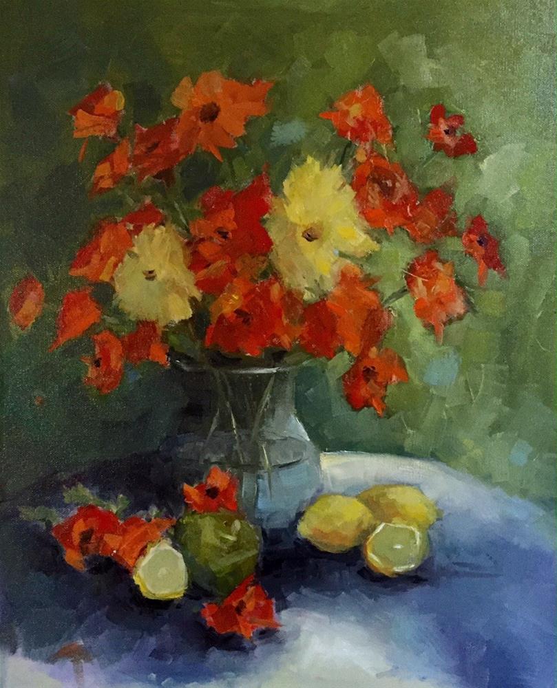 """""""Still Life"""" original fine art by Marcia Hodges"""
