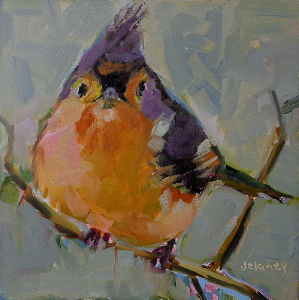 """CHIRP"" original fine art by Jean Delaney"