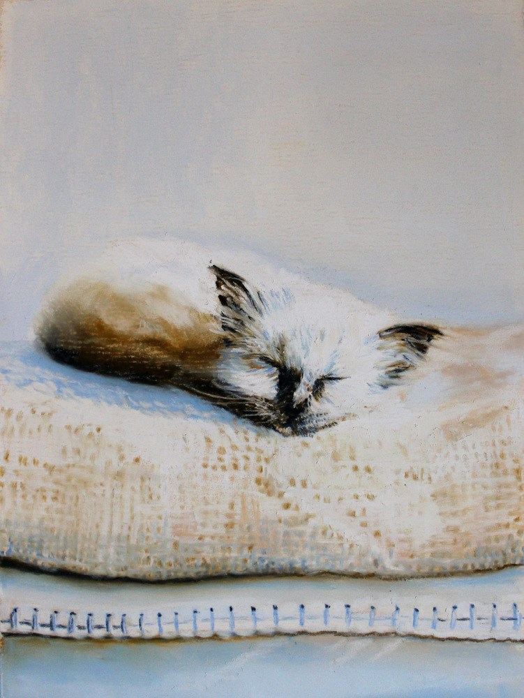 """Princess and the Pea"" original fine art by Jill Bates"