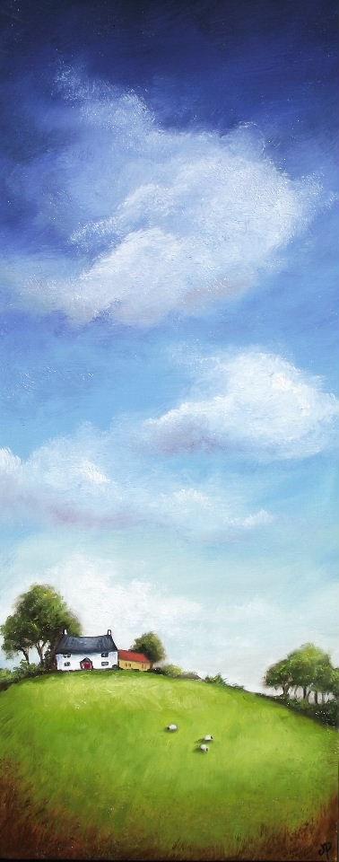 """Big Sky"" original fine art by Jane Palmer"