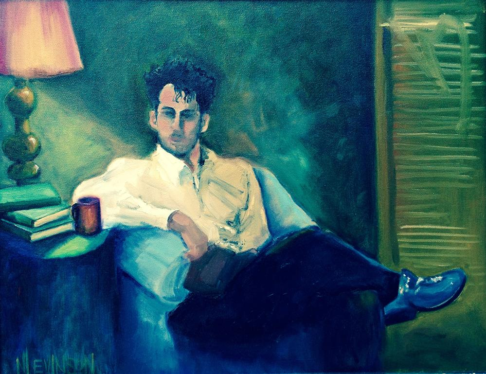"""In Rapose"" original fine art by Nancy Levinson"