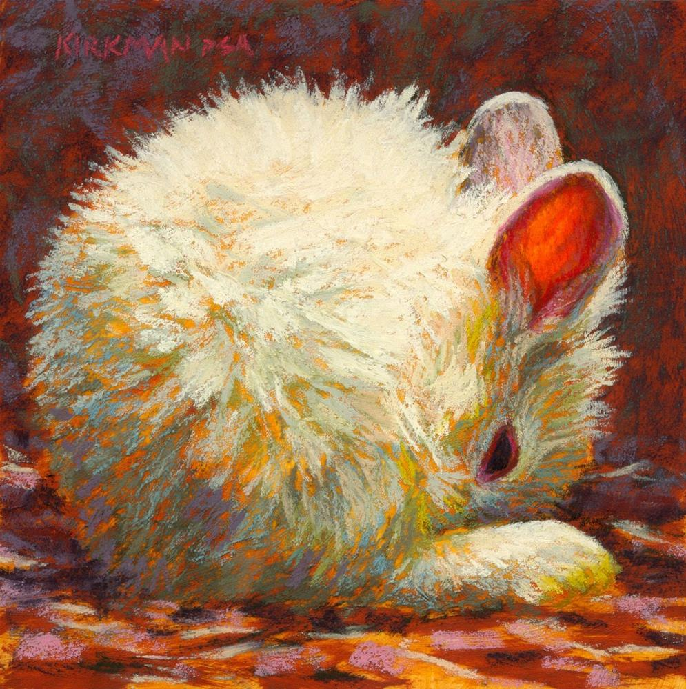 """'Bun' in Carol Marine's new book!"" original fine art by Rita Kirkman"
