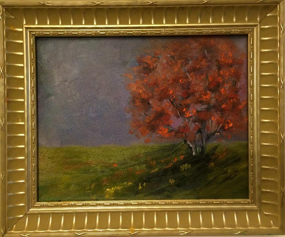 """Tree of goodness"" original fine art by Ramya Sarveshwar"