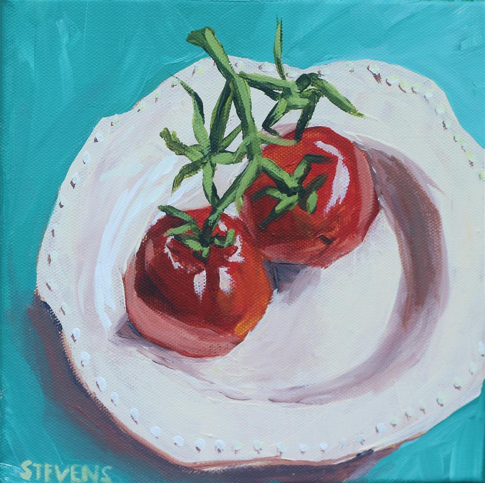 """""""Companions"""" original fine art by Jamie Stevens"""