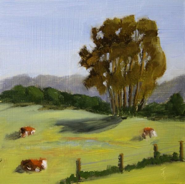 """Spring Pasture"" original fine art by Jane Frederick"