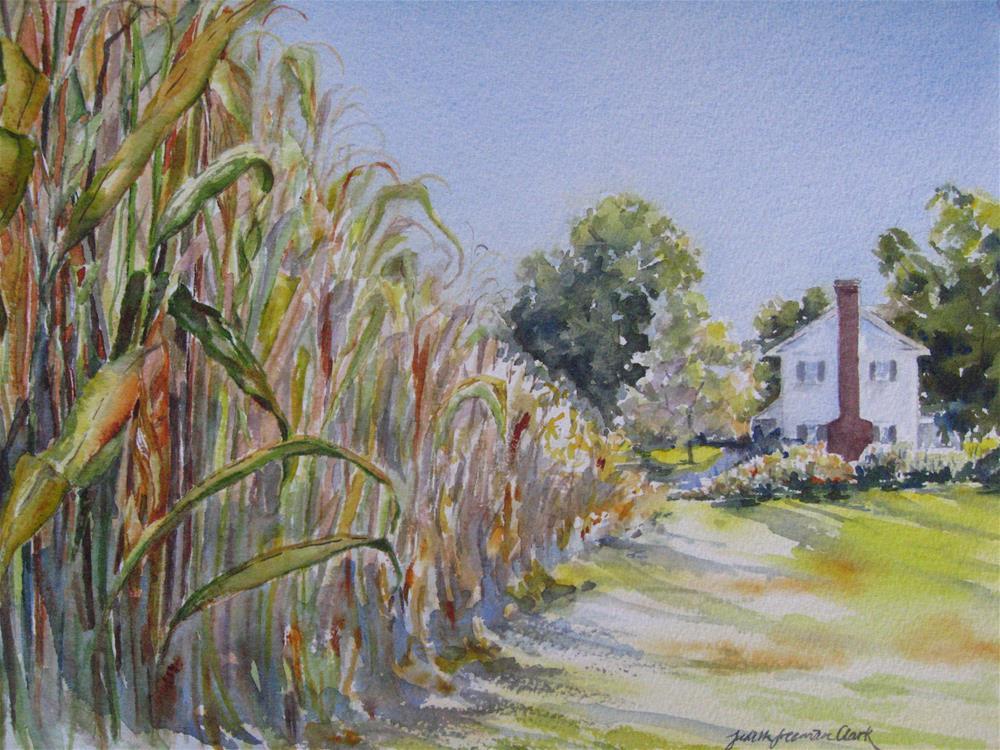"""Indian Summer"" original fine art by Judith Freeman Clark"