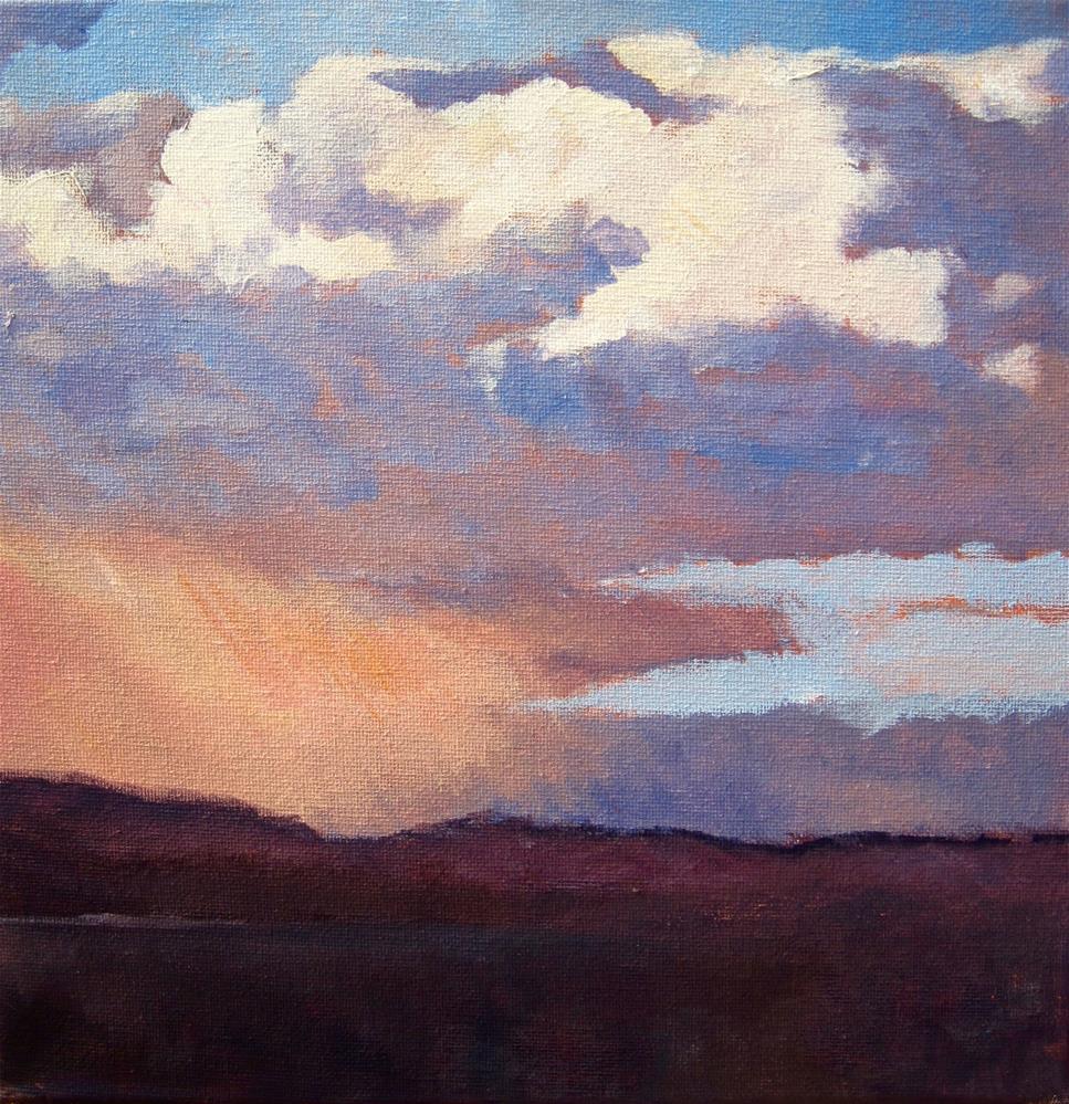"""Storm Study"" original fine art by Zack Thurmond"