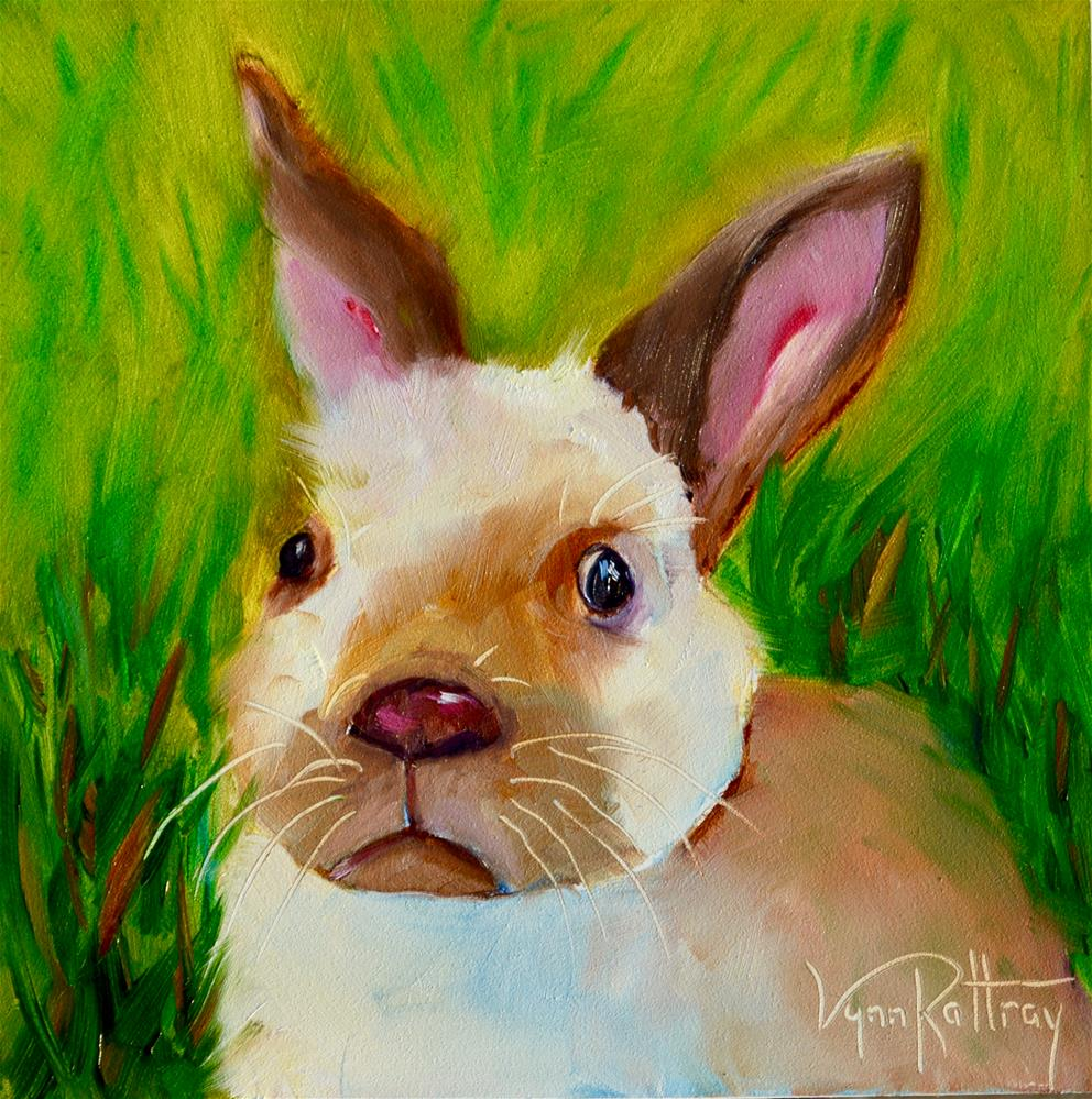 """""""'You Say You're Missing Some Carrots?'"""" original fine art by Lynn Rattray"""