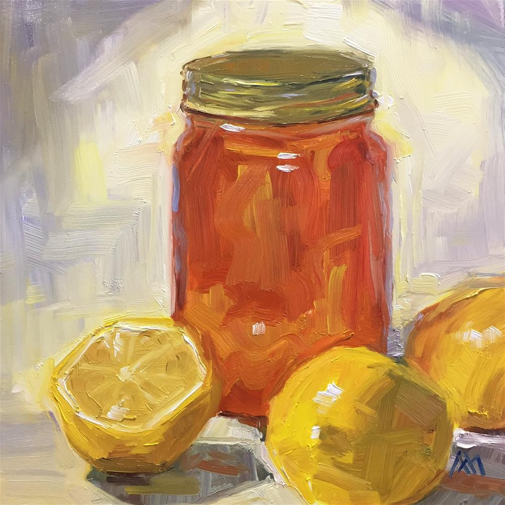 """More Lemons & More Honey"" original fine art by Austin Maloney"