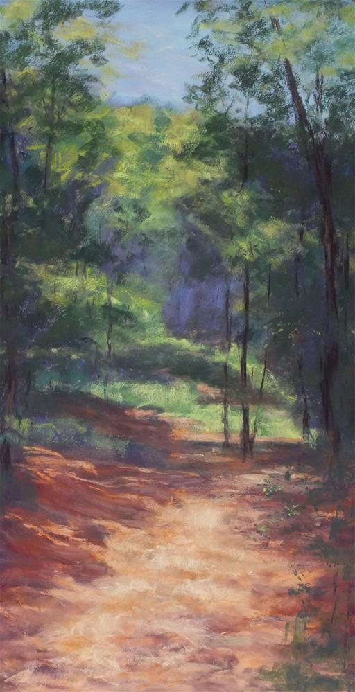 """Into the Woods"" original fine art by Linee Baird"
