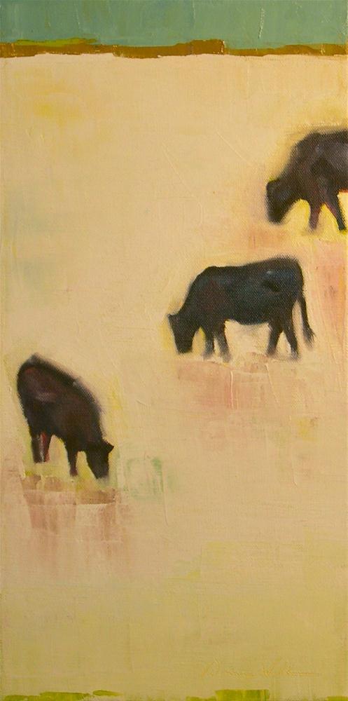 """""""Dark Trio"""" original fine art by Donna Walker"""
