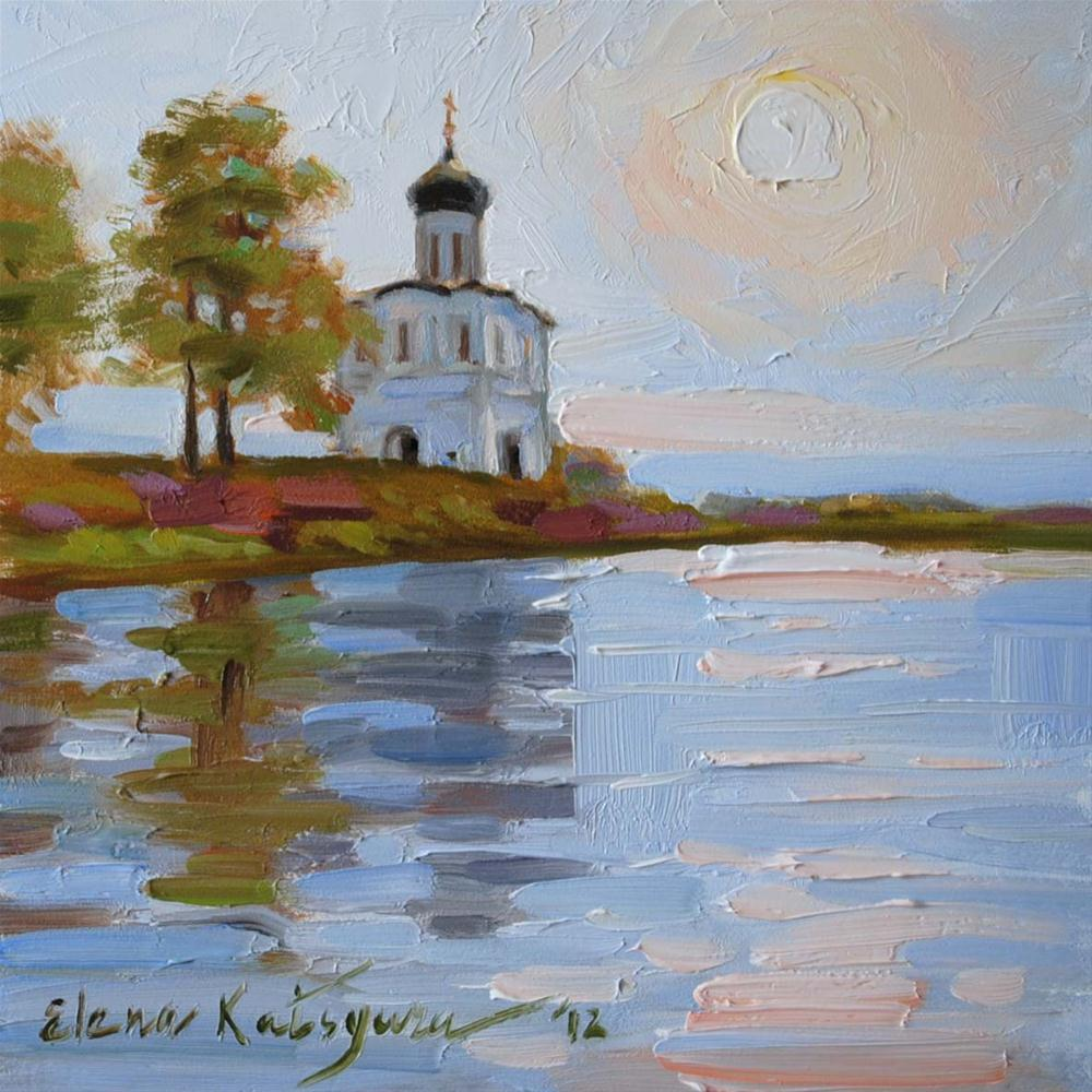"""Early Morning"" original fine art by Elena Katsyura"