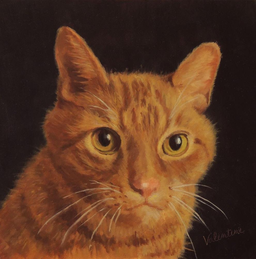"""Leo"" original fine art by Barbara Valentine"