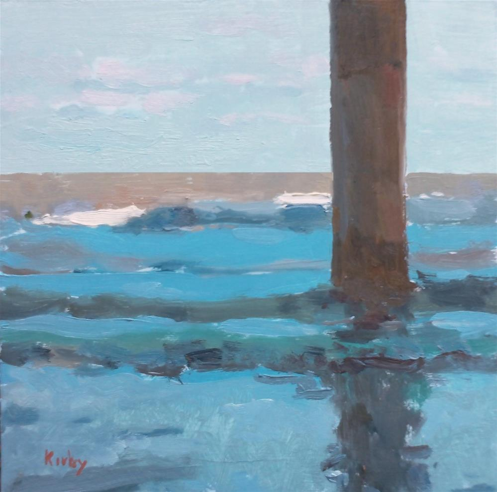 """Under the Pier"" original fine art by Randall Cogburn"