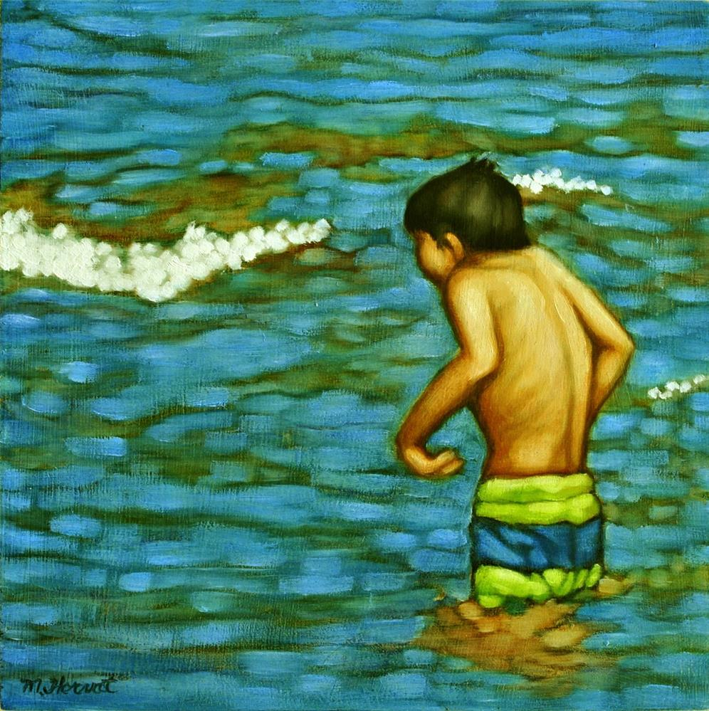 """Cold!"" original fine art by Margaret Horvat"