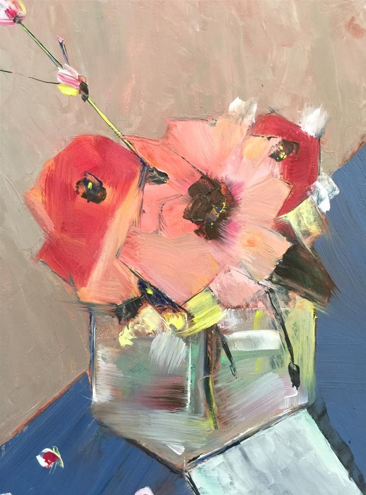 """""""0026Flowers"""" original fine art by Jenny Doh"""