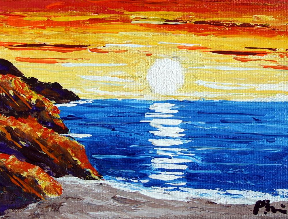 """MORNING SUN"" original fine art by Bob Phillips"