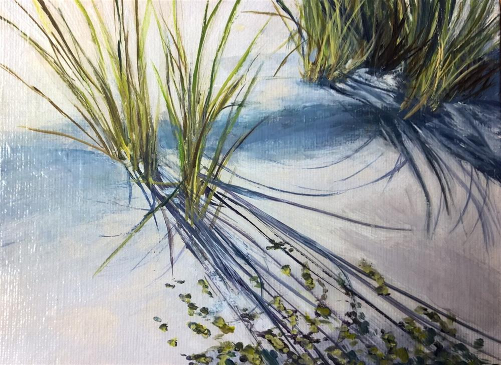 """Sand and Shadows"" original fine art by Joan Matero"