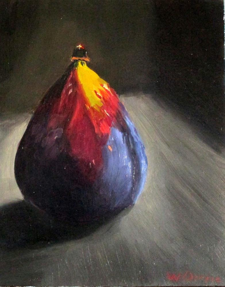 """Fig in the Cupboard"" original fine art by Will Dargie"
