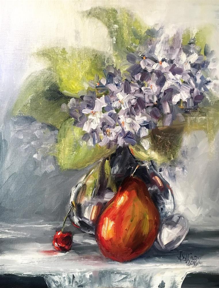 """Sometimes I Just Want Fruit still life painting by Alabama Artist Angela Sullivan"" original fine art by Angela Sullivan"