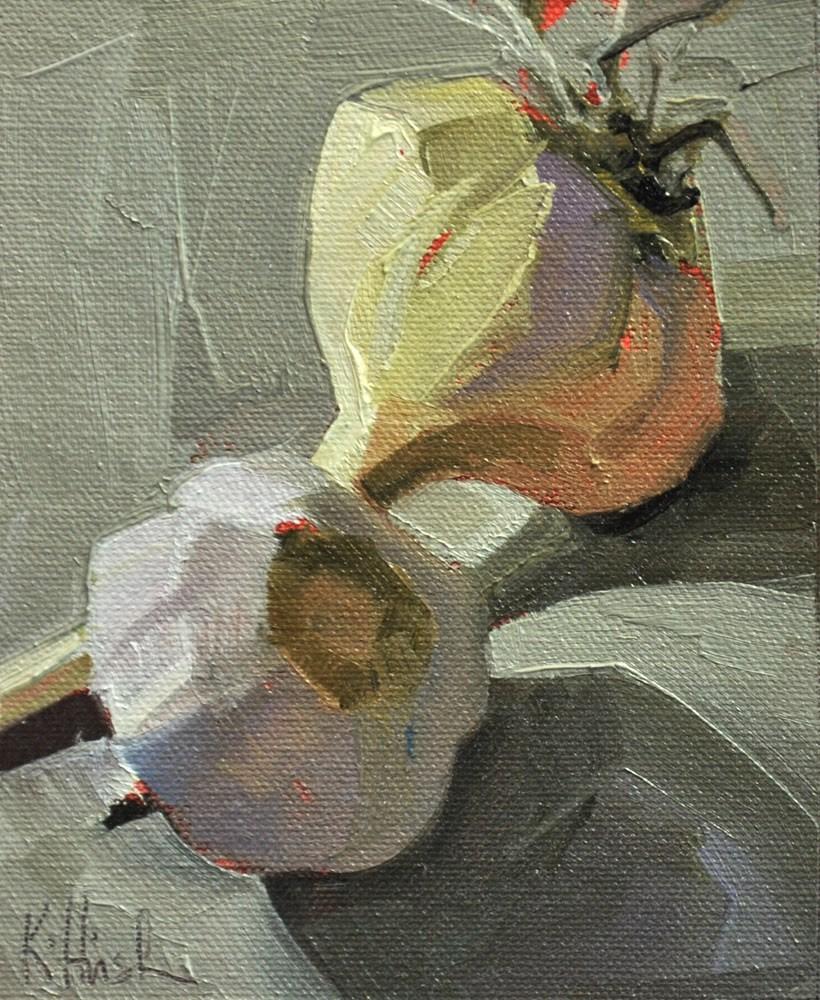 """Study in Grey 2"" original fine art by kathy hirsh"