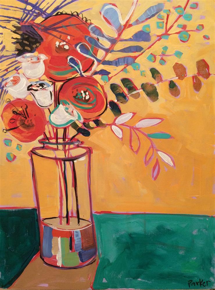 """Fill the Vase No.4"" original fine art by Teddi Parker"