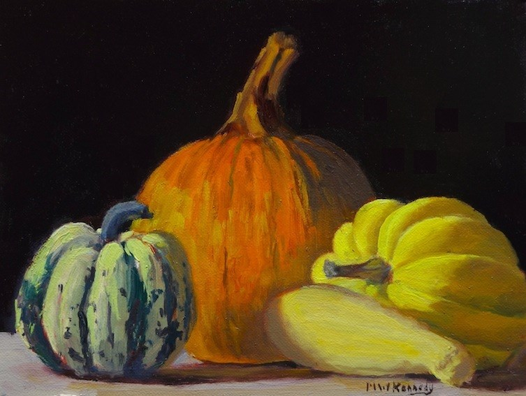 """Squash City"" original fine art by Michael Kennedy"