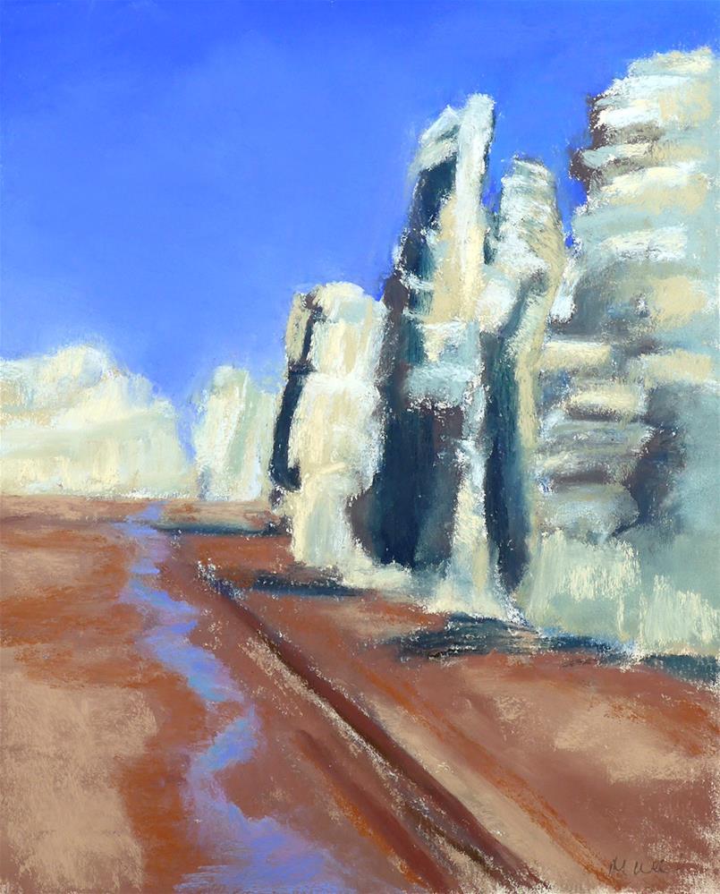 """Tierra Blanca, NM"" original fine art by Mary Weil"