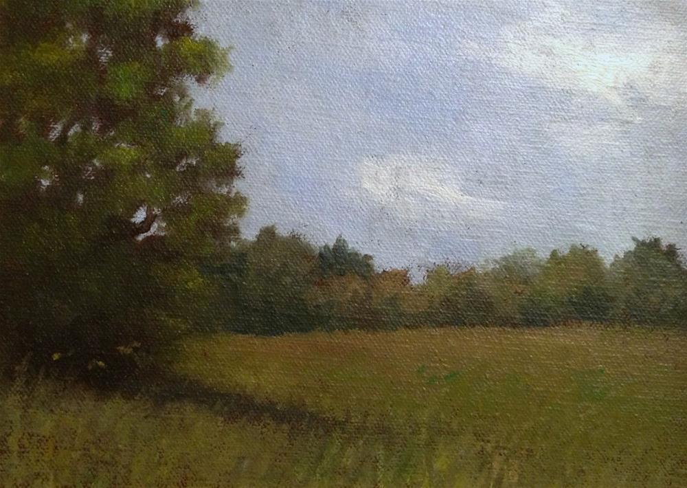 """""""New England Landscape (Lincoln, MA)"""" original fine art by Michelle Garro"""
