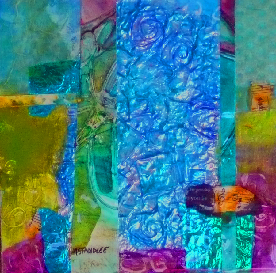 """""""Be Yourself 11029  SOLD"""" original fine art by Nancy Standlee"""