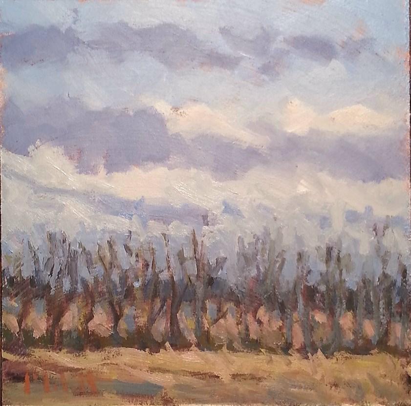 """Feels Like Spring Original Landscape Oil Painting"" original fine art by Heidi Malott"