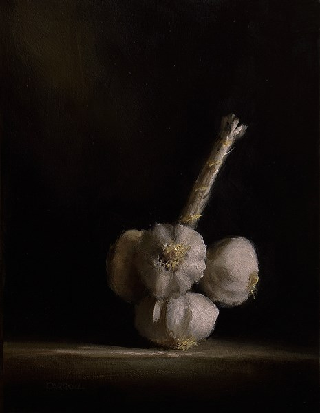 """Garlic"" original fine art by Neil Carroll"