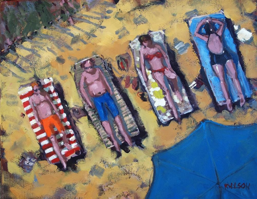 """Human Scale 2"" original fine art by Rick Nilson"