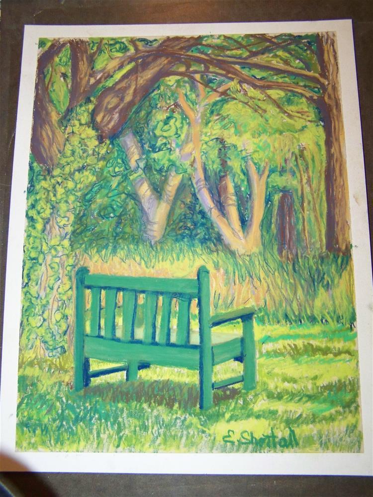 """A Quiet Place to Rest"" original fine art by Elaine Shortall"